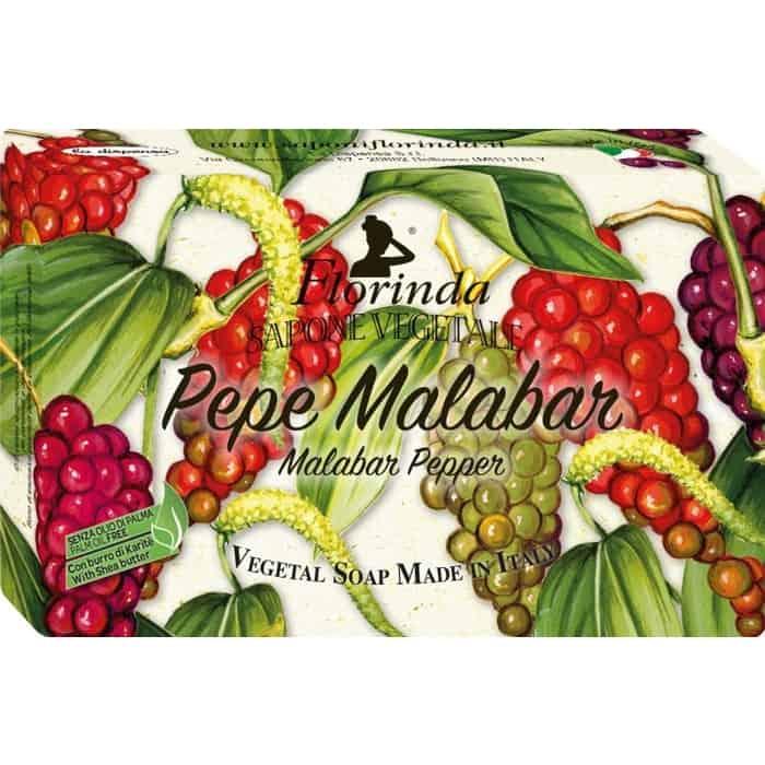 Мыло FLORINDA Pepper Malabar (Palm Oil Free) / Перец Малабар 100 г