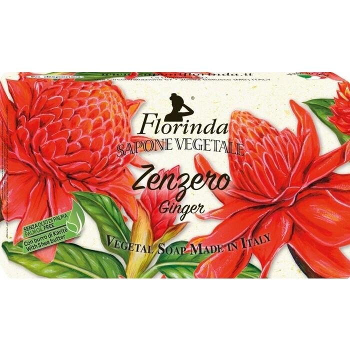 Мыло FLORINDA Zenzero (Palm Oil Free) / Имбирь 100 г