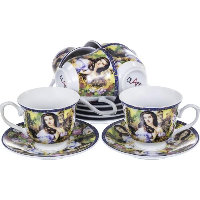 Чайный сервиз 12 предметов OLAFF Мадонна (156-01004)