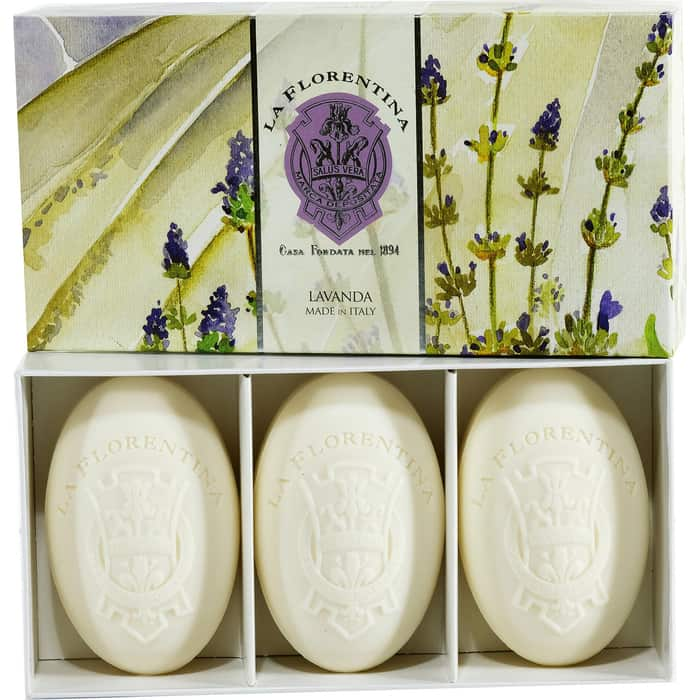 Мыло La Florentina в наборе 3*150 г Lavender / Лаванда