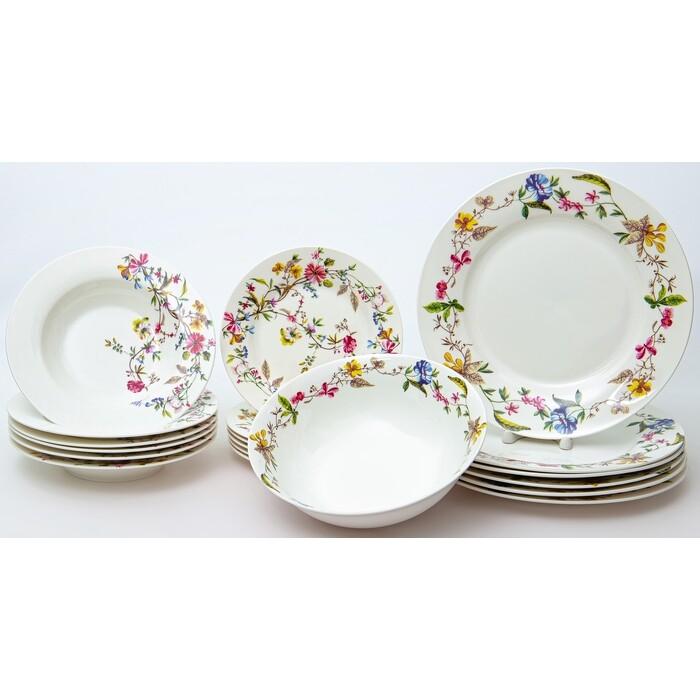 Набор столовой посуды 19 предметов Balsford Латона летнее утро (104-03104)