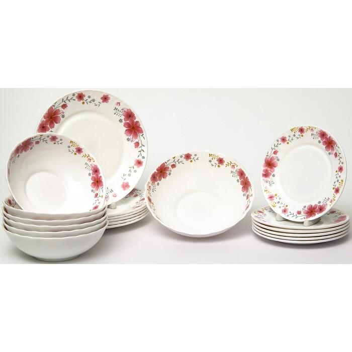 Набор столовой посуды 19 предметов OLAFF Алькор (130-21099)