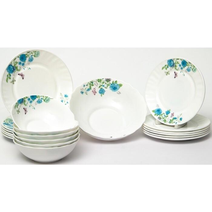 Набор столовой посуды 19 предметов OLAFF Милона (130-21105)