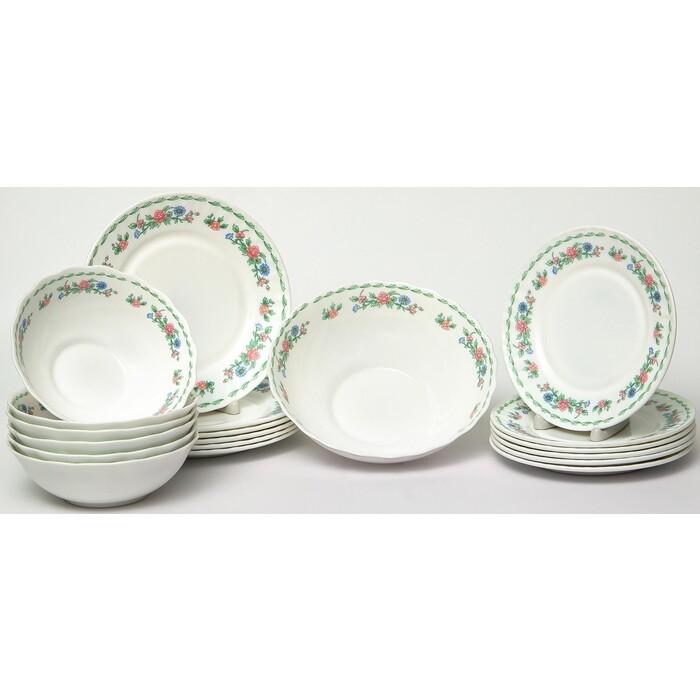 Набор столовой посуды 19 предметов OLAFF Джульетта (130-21108)