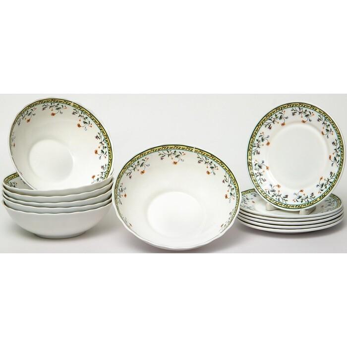 Набор столовой посуды 13 предметов OLAFF Лиция (130-21112)