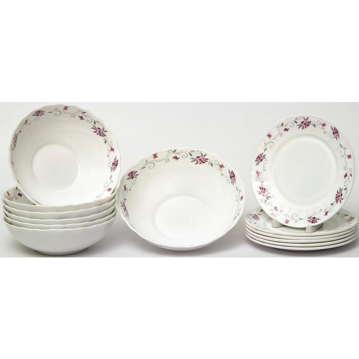 Набор столовой посуды 13 предметов OLAFF Эстелла (130-21115)