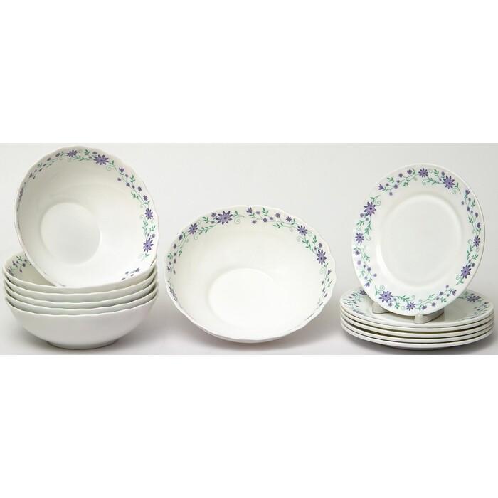 Набор столовой посуды 13 предметов OLAFF Констанция (130-21116)