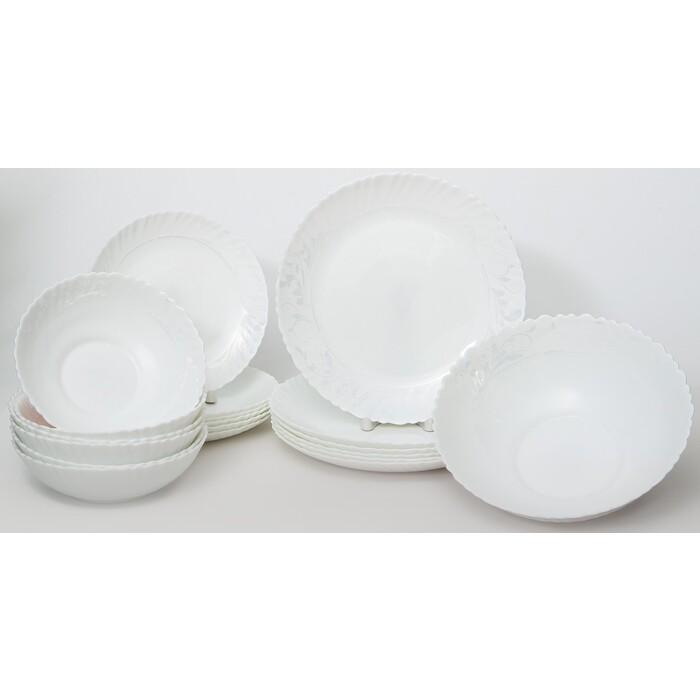Набор столовой посуды 19 предметов OLAFF Утренний барокко (131-21015)