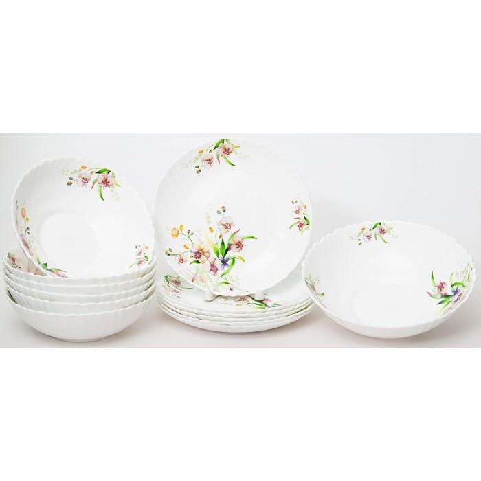 Набор столовой посуды 13 предметов OLAFF Английский сад (131-21008)