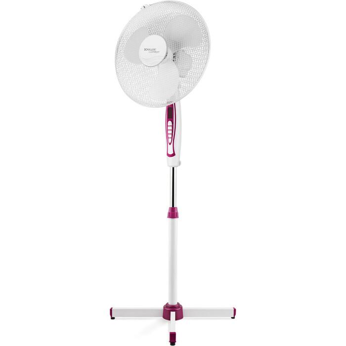Вентилятор напольный Scarlett SC-SF111B25, фиолетовый