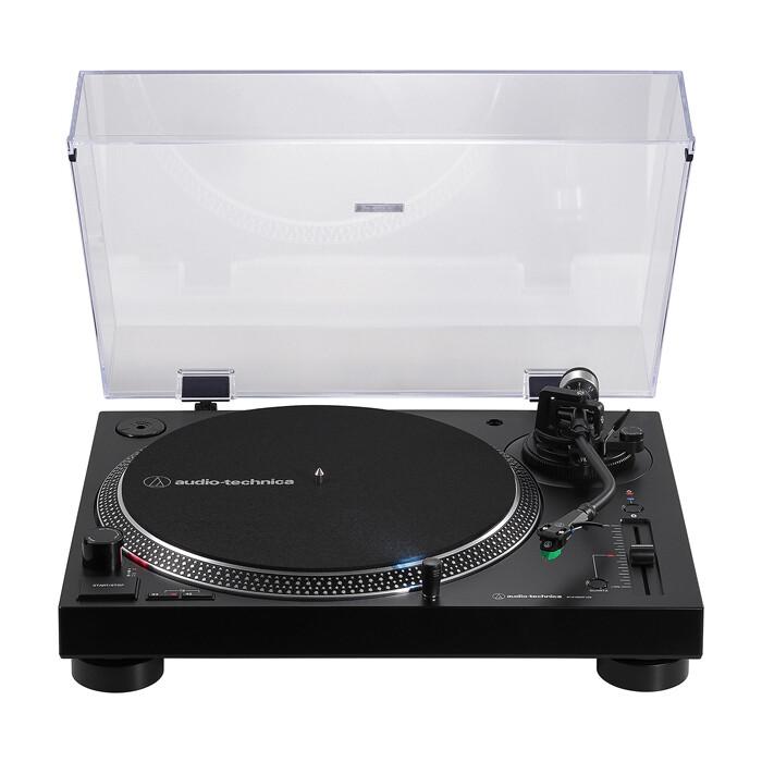 Виниловый проигрыватель Audio-Technica AT-LP120XBT-USB black