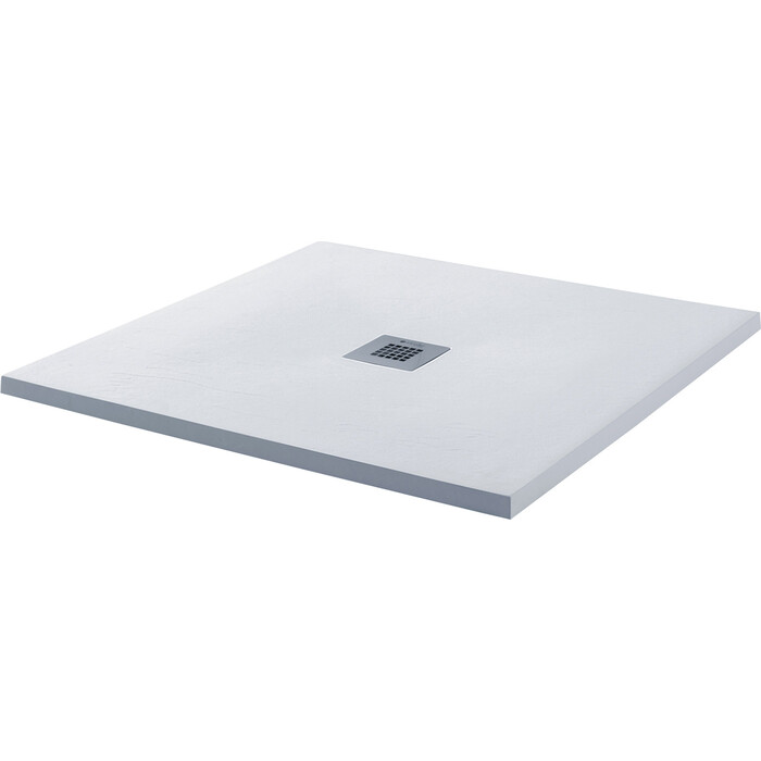 Душевой поддон Aquanet Pleasure 90x90 белый камень (255436)