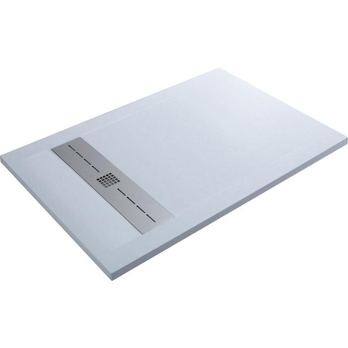 Душевой поддон Aquanet Delight 160x80 белый камень (256310)