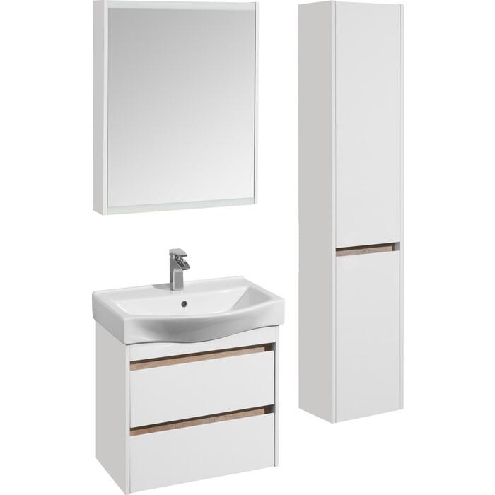 Мебель для ванной Акватон Нортон 65 белый глянец