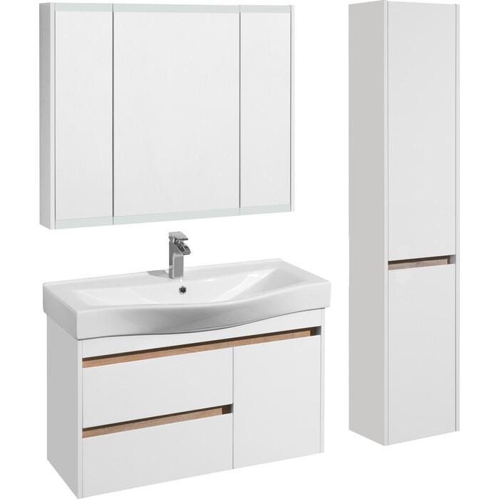 Мебель для ванной Акватон Нортон 100 белый глянец