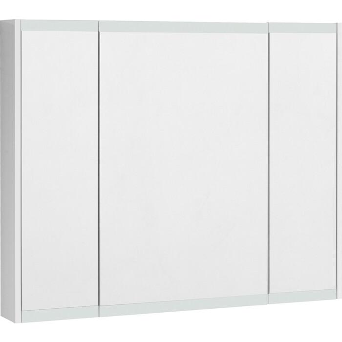 Зеркальный шкаф Акватон Нортон 100 белый глянец (1A249302NT010)