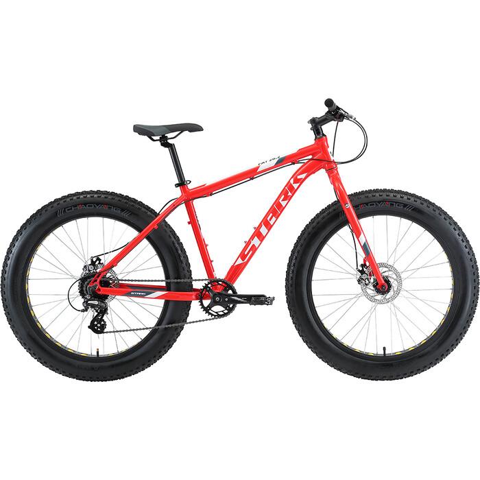 Велосипед Stark Fat 26.2 D красный/белый/серый 20