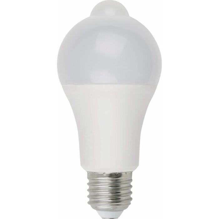 Лампа Uniel светодиодная (UL-00005713) E27 12W 4000K матовая LED-A60-12W/4000K/E27/PS+MS PLS10WH