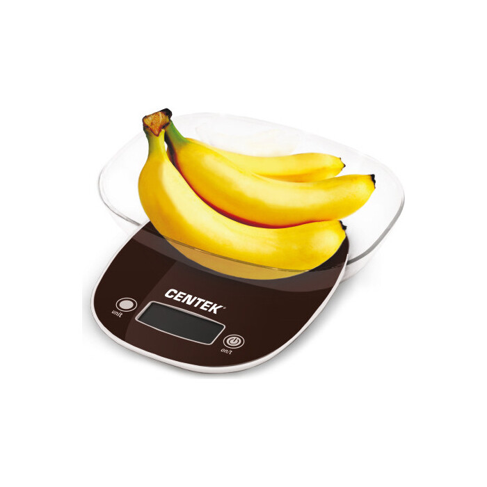 Весы кухонные Centek CT-2456 шоколад весы кухонные centek ct 2463 серебристый