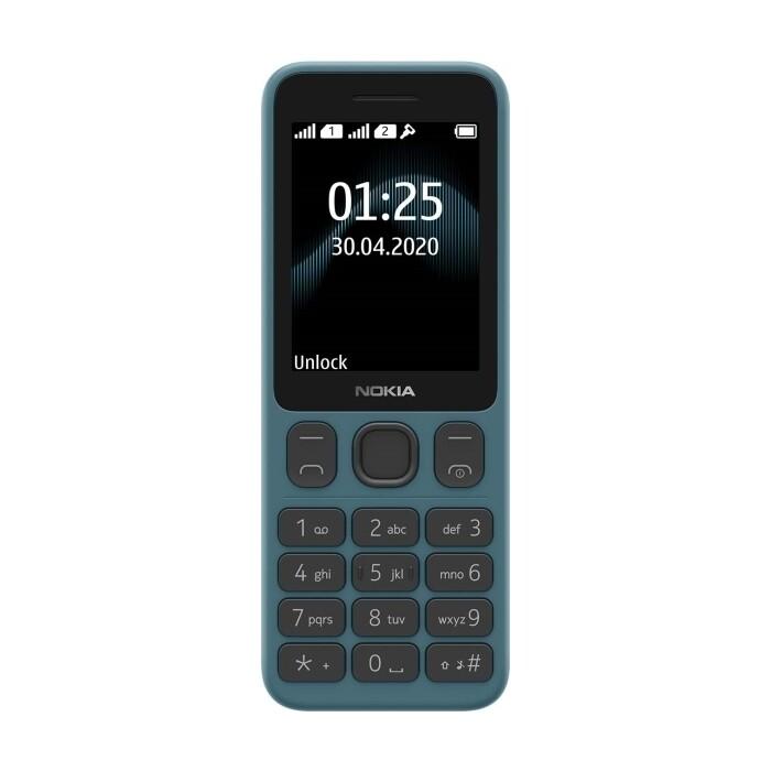 Мобильный телефон Nokia 125 DS (TA-1253) Blue