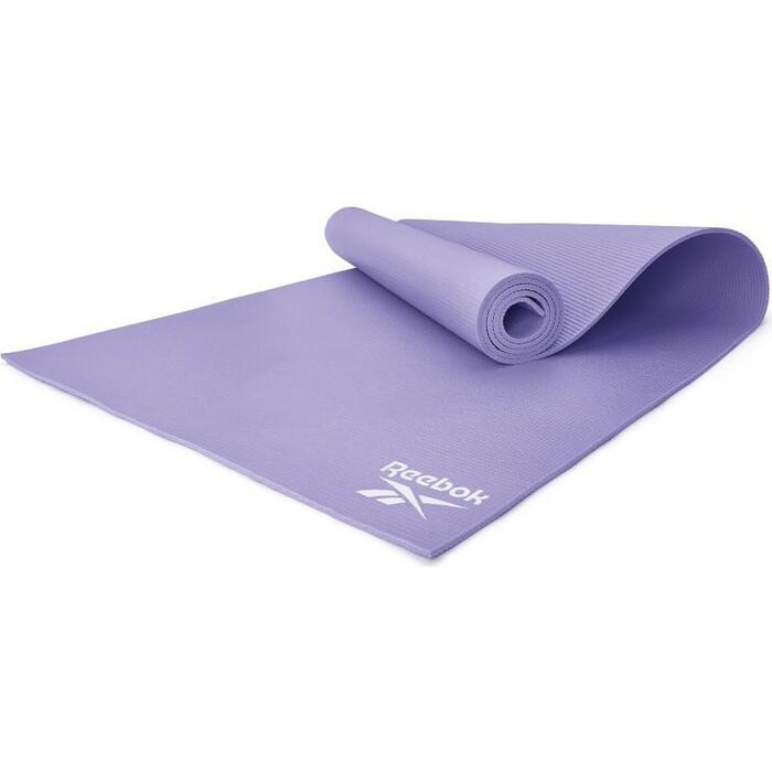Коврик для фитнеса Reebok RAYG-11022PL фиолетовый 4 мм