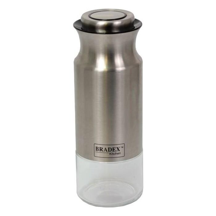 Банка для сыпучих продуктов Bradex 1.4 л стальная (TK 0376)