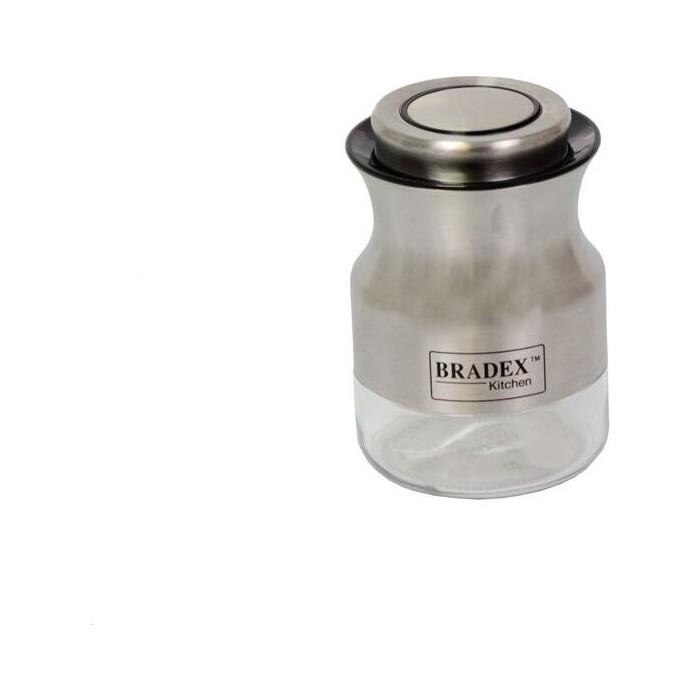 Банка для сыпучих продуктов Bradex 0.55л стальная (TK 0382)