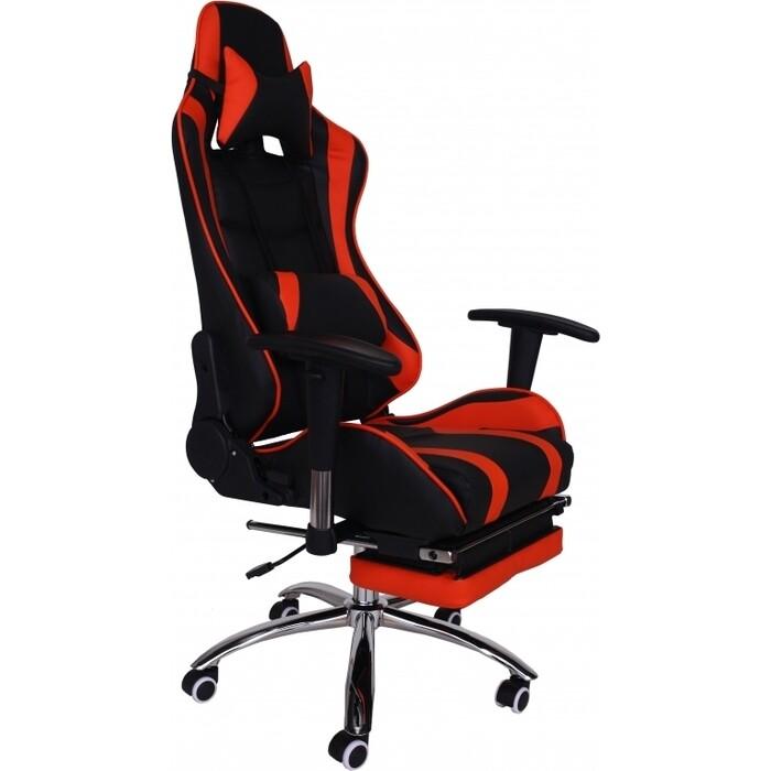 Кресло Меб-фф RT-6001 orange and black / MFG-6001 black orange