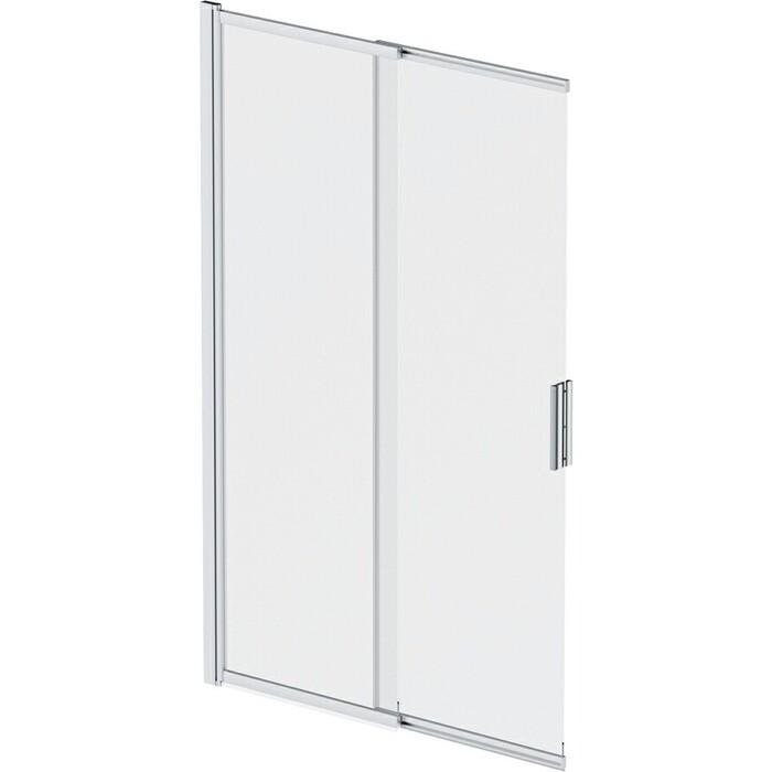 Шторка для ванной Am.Pm Like 100х150 стекло прозрачное, профиль матовый хром (W80S-100PS-150MT)