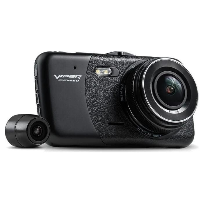 Видеорегистратор VIPER 650 (2 камеры) (1 внешняяя камера)