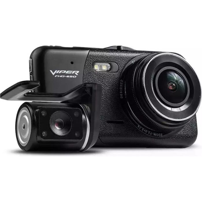Видеорегистратор VIPER 650 (2 камеры) (1 внутренняя камера)