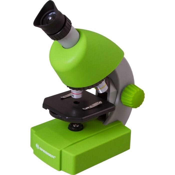 Микроскоп Bresser Junior 40x-640x, зеленый астропланетарий bresser junior 33140
