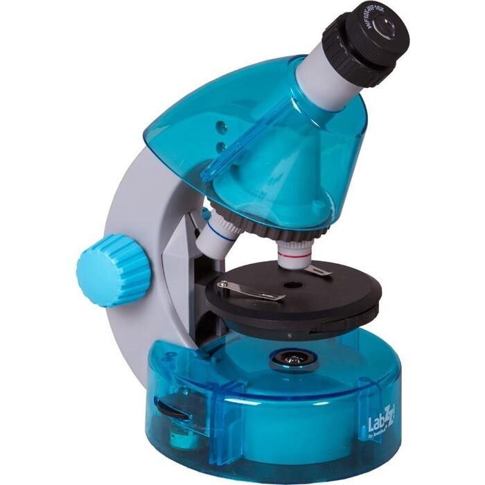 Микроскоп Levenhuk LabZZ M101 Azure/ Лазурь