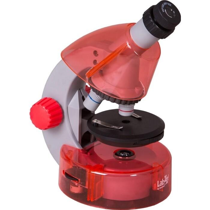 Микроскоп Levenhuk LabZZ M101 Orange/ Апельсин