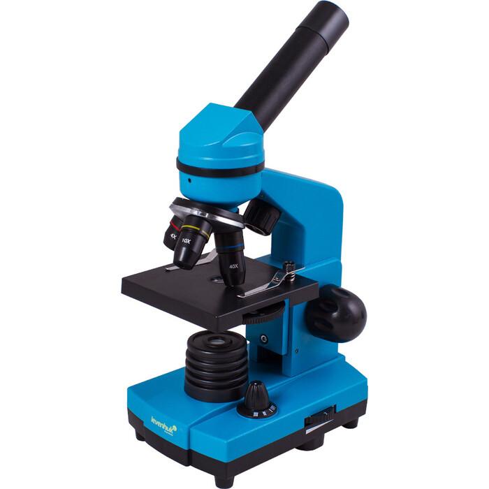 Микроскоп Levenhuk Rainbow 2L Azure/ Лазурь