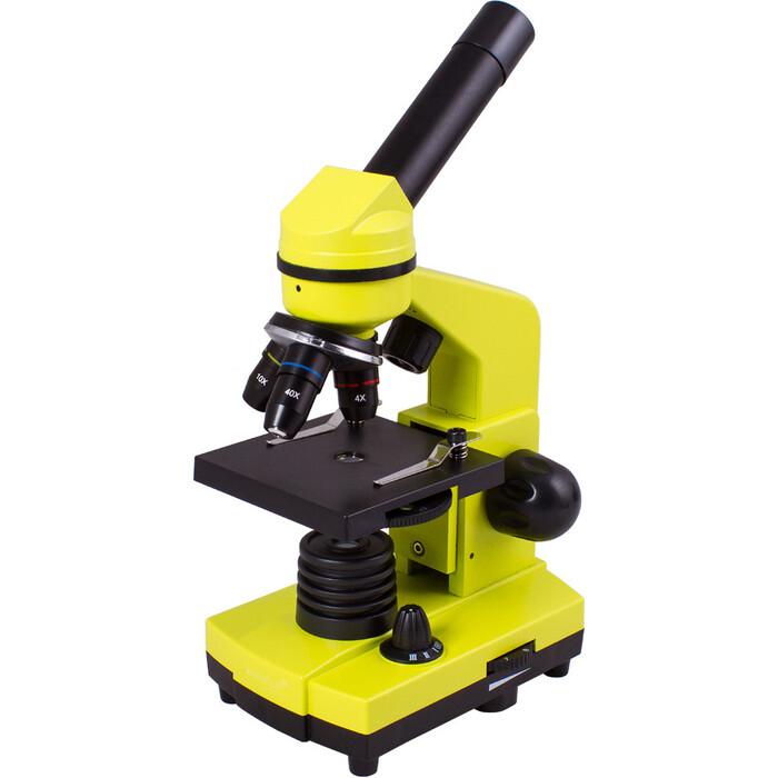 Микроскоп Levenhuk Rainbow 2L Lime/ Лайм