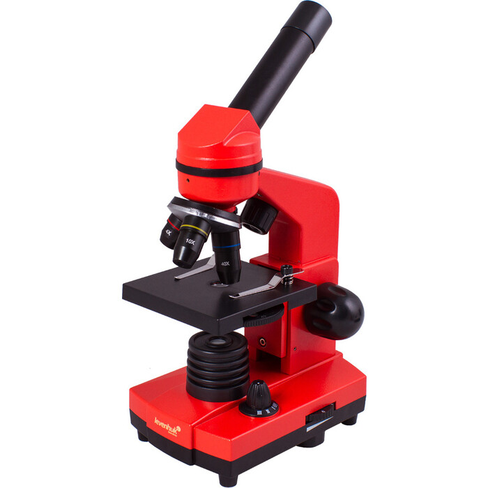 Микроскоп Levenhuk Rainbow 2L Orange/ Апельсин микроскоп levenhuk rainbow 2l plus lime лайм