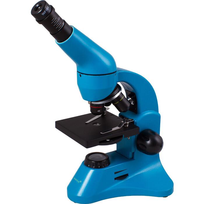 Микроскоп Levenhuk Rainbow 50L PLUS Azure/ Лазурь