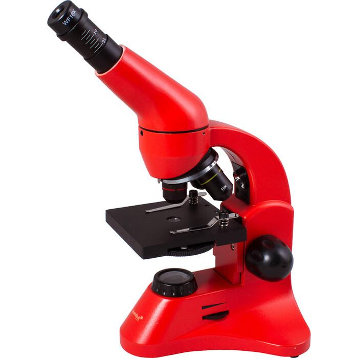Микроскоп Levenhuk Rainbow 50L PLUS Orange/ Апельсин