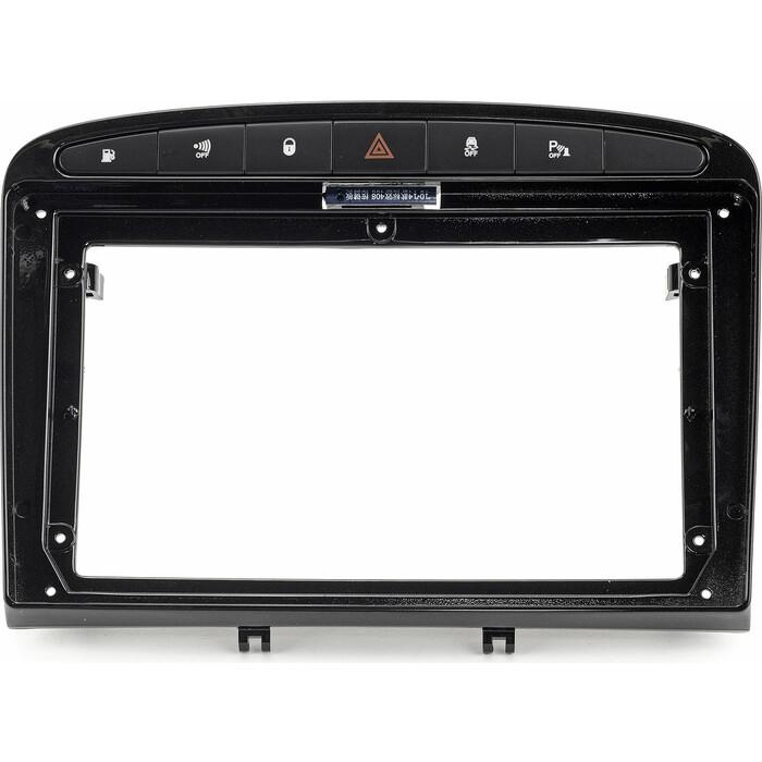 Рамка Incar для XTA PEUGEOT 308, 408 BLACK, 9