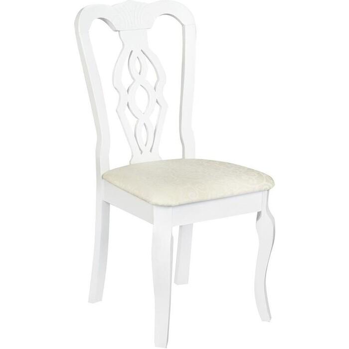 Стул TetChair Афродита /Aphrodite дерево гевея pure white (белый 2-1)
