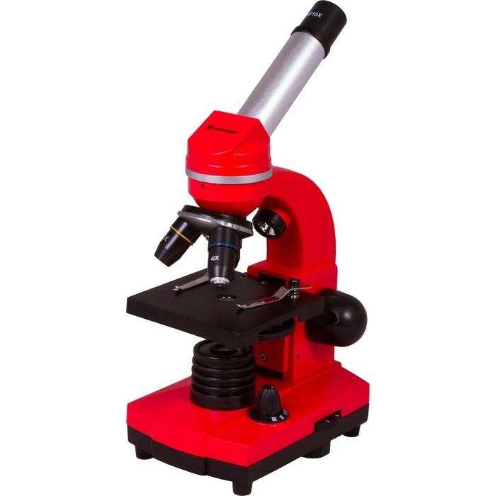 Микроскоп Bresser Junior Biolux SEL 40-1600x, красный