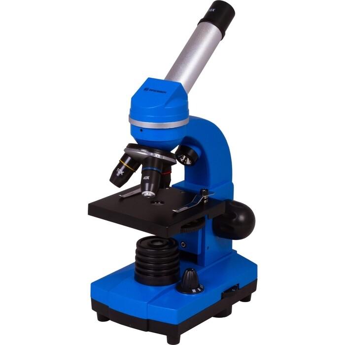 Микроскоп Bresser Junior Biolux SEL 40-1600x, синий