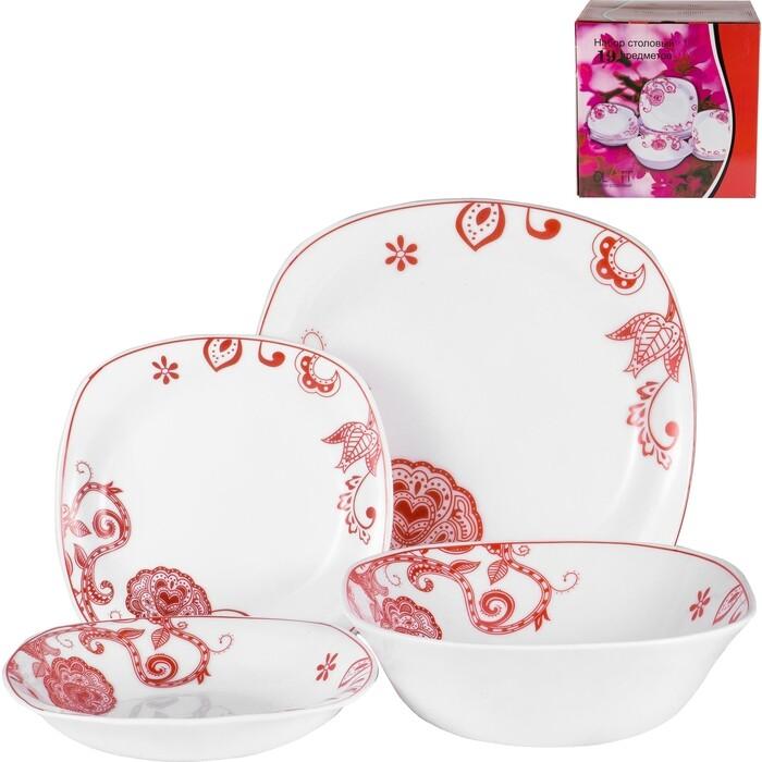 Набор столовой посуды 19 предметов OLAFF (JY-S-19-06)