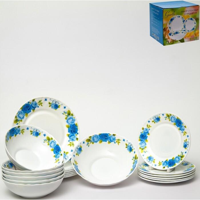 Набор столовой посуды 19 предметов OLAFF (130-21101)