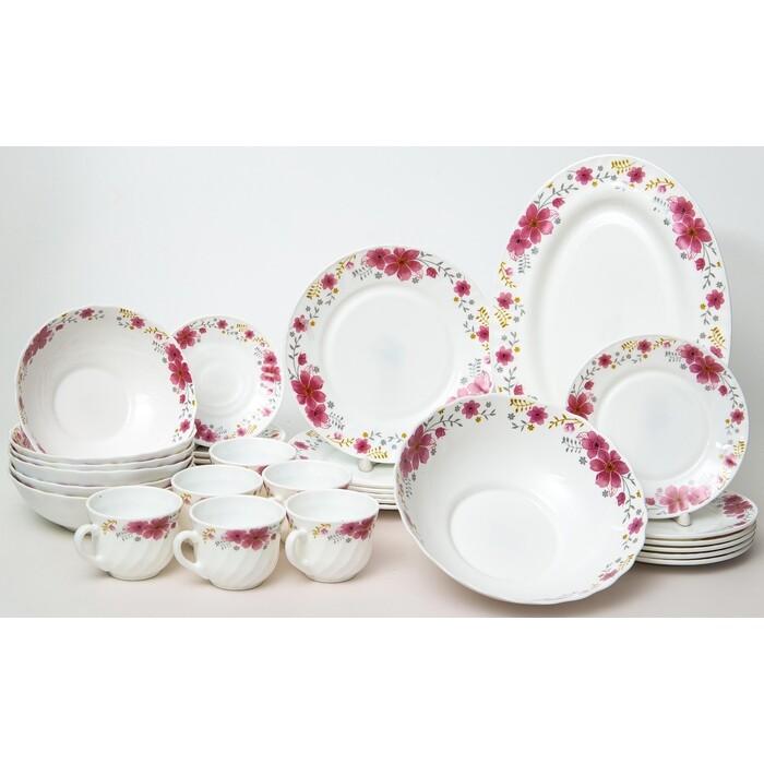 Набор столовой посуды 32 предмета OLAFF (130-21140)