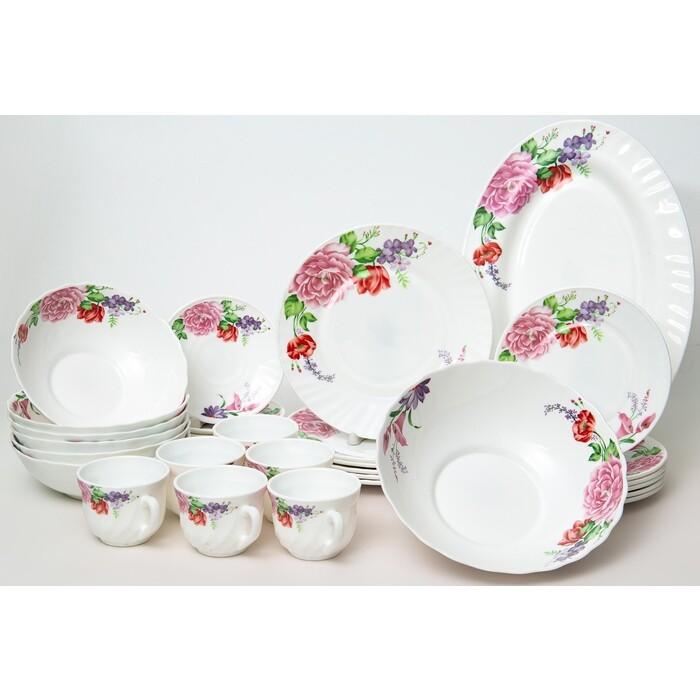 Набор столовой посуды 32 предмета OLAFF (130-21143)