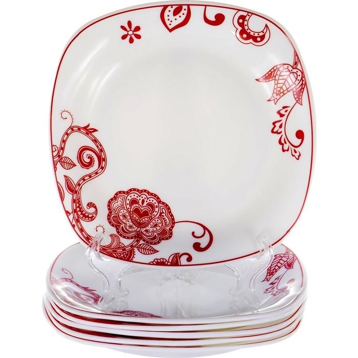 Набор тарелок 6 предметов OLAFF (JY-S-SFP75-06)