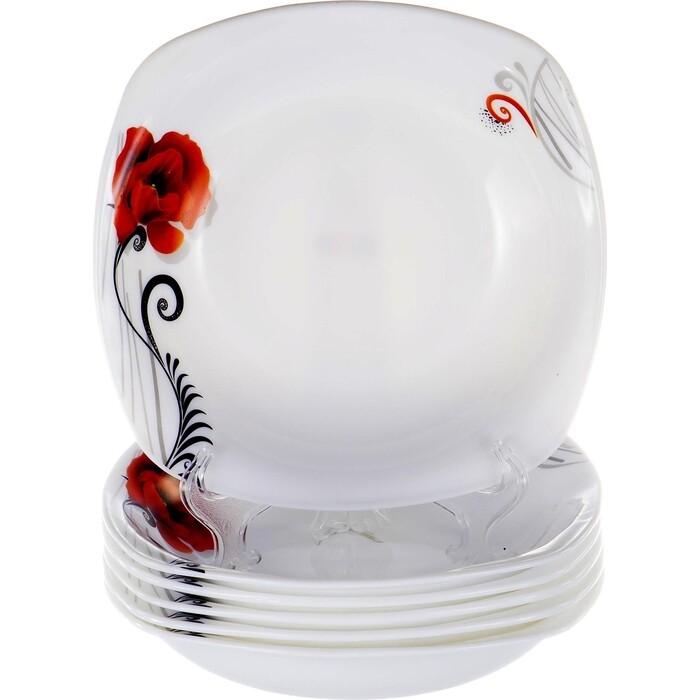 Набор тарелок 6 предметов OLAFF (JY-S-SSP85-07)