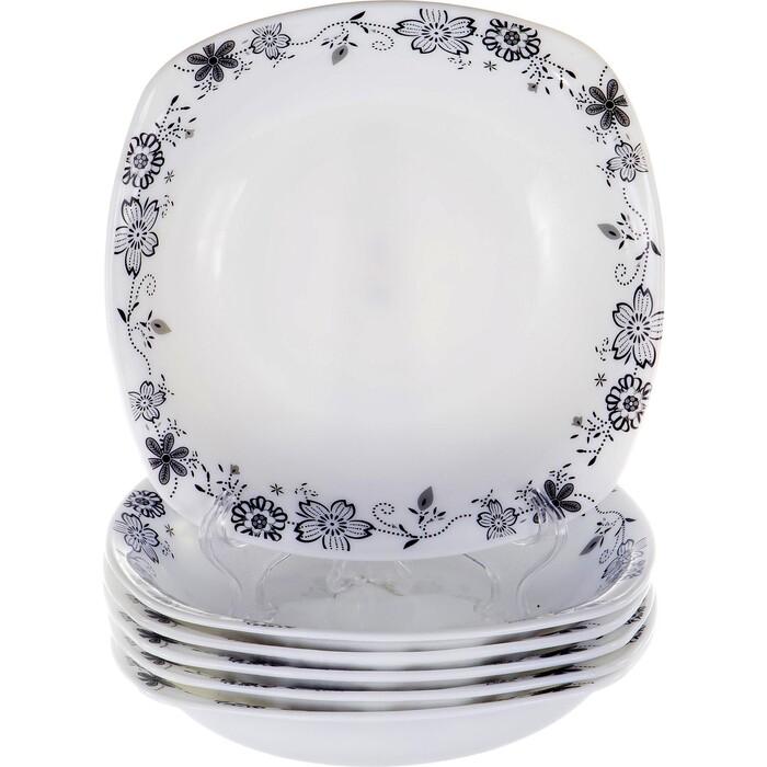 Набор тарелок 6 предметов OLAFF (JY-S-SSP85-08)